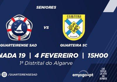 Jornada 19: Quarteirense SAD vs Quarteira SC