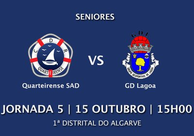 Jornada 5: Quarteirense SAD vs Lagoa