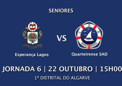 Jornada 6: Esp. Lagos vs Quarteirense SAD
