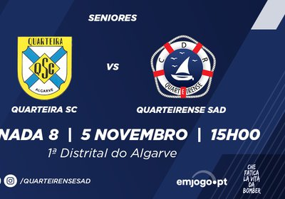 Jornada 8: Quarteira vs Quarteirense SAD