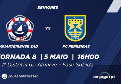 J8: Quarteirense SAD vs Ferreiras