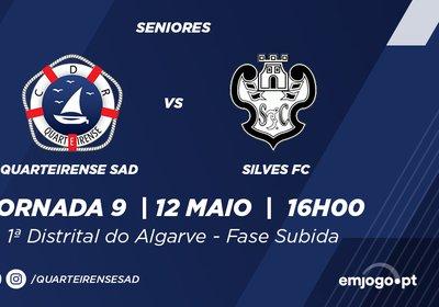 J9: Quarteirense SAD vs Silves FC