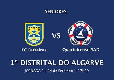 1ª Distrital Algarve 2016/17 - Jornada 1
