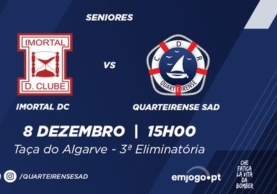 Taça do Algarve: 3ª eliminatória