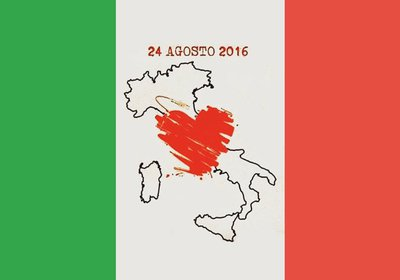 Condolências a Itália