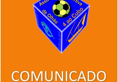 Comunicado do Quatro ao Cubo - ADO