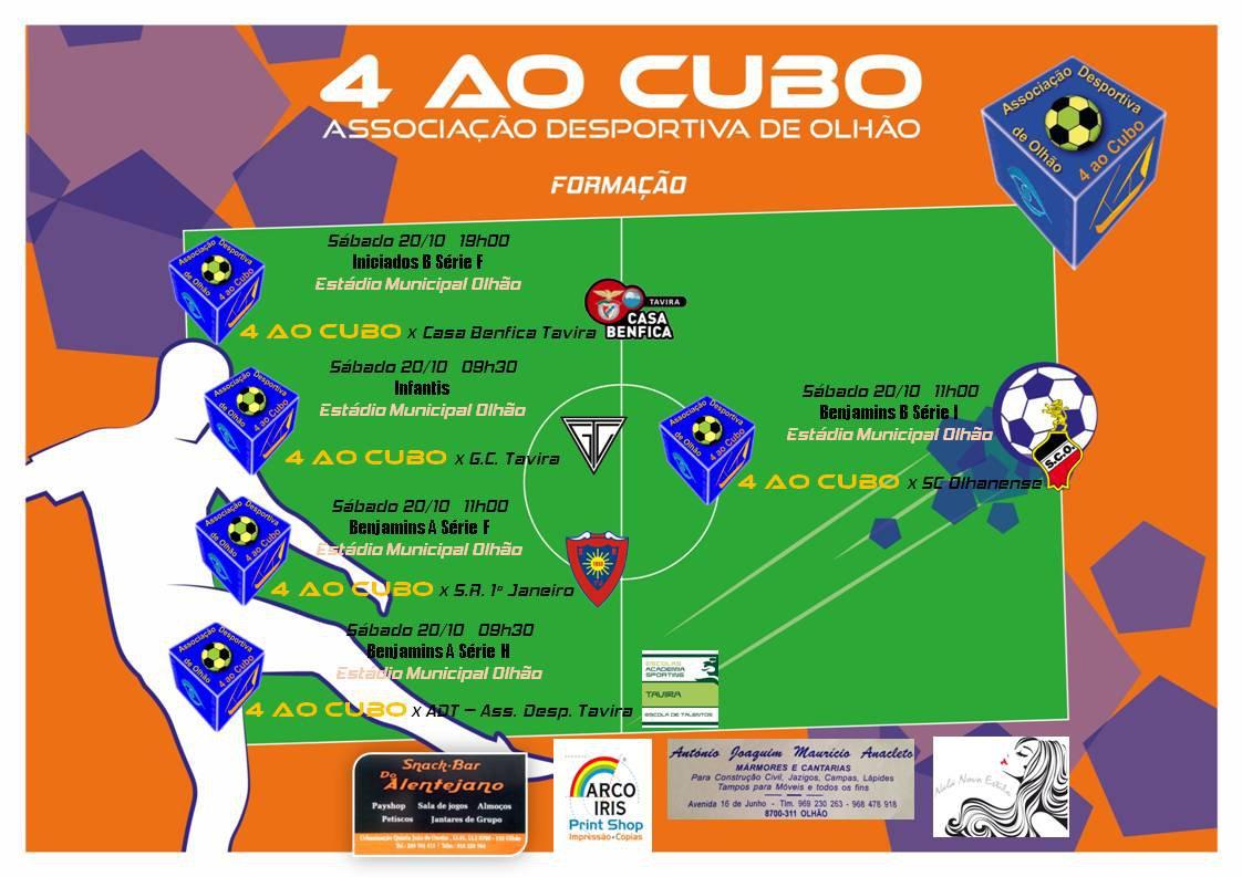 Calendário dos Jogos do fim‑de‑semana 20 a 21 de Outubro