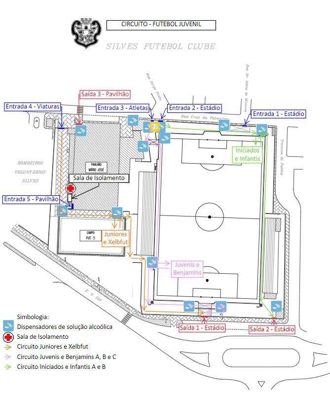 Circuito de Contingência - Futebol Juvenil