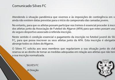 Comunicado  - SilvesFC