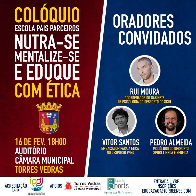 SCUT ORGANIZA COLÓQUIO