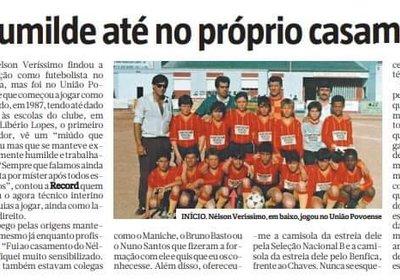 UAP e Veríssimo notícia do Jornal Record