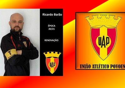 Ricardo Barão continua a frente dos destinos da equipa senior do futebol do UAP