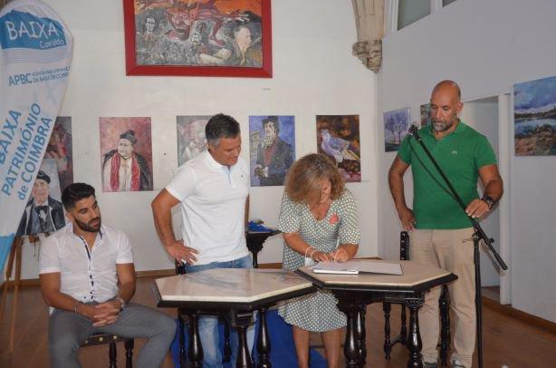 Assinatura de protocolo com a Agência para a Promoção da Baixa de Coimbra