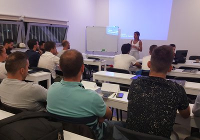 Curso treinadores Grau I nas instalações do Vilaverdense