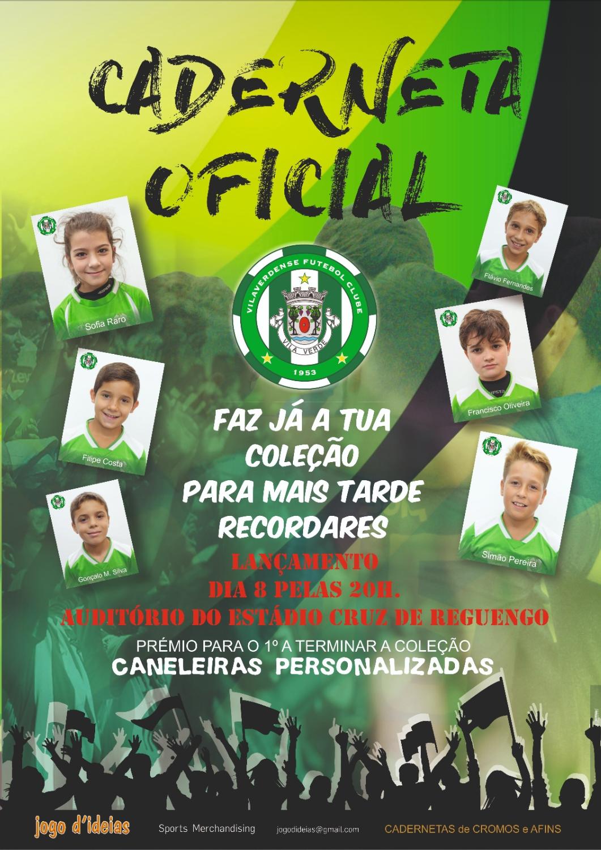Caderneta de Cromos oficial Vilaverdense FC