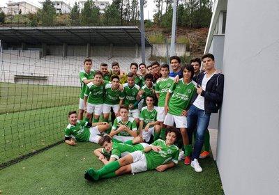 Juvenis 2 do Vila vencem e já são líderes da Série B