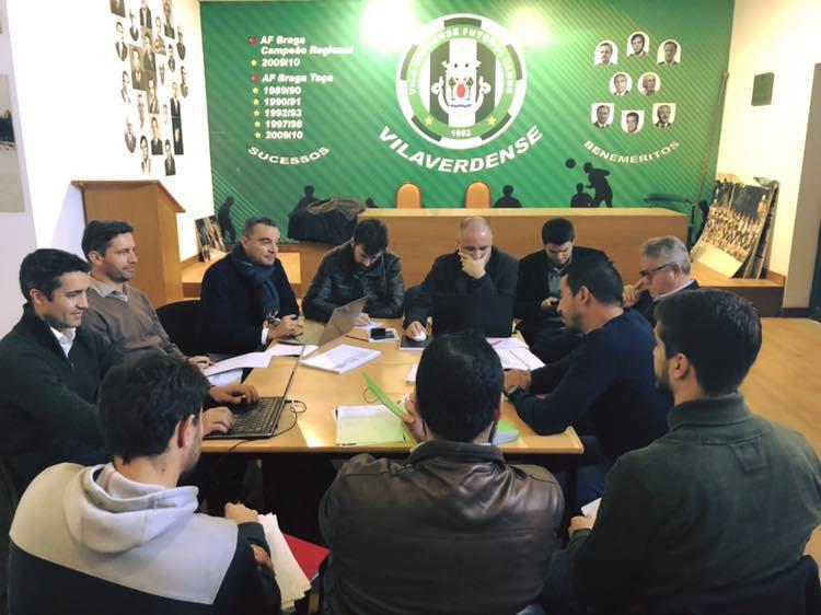 Técnicos da Federação Portuguesa de Futebol e da AF Braga agradados com o projeto formativo do Vilaverdense