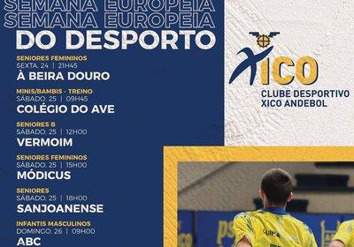 Semana Europeia do Desporto no Xico