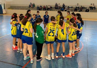 Equipa de Infantis Femininas participou no Torneio Pre Season Feira