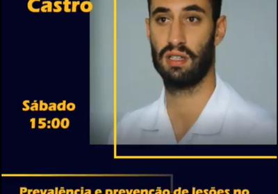 Palestra:::Prevalência e prevenção de lesões no Andebol por Tiago Castro